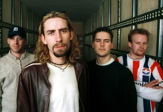 Nickelback - Chad Kroeger, Ryan Peake, Mike Kroeger, and Daniel Adair