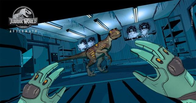 Jurassic World Aftermath screenshot