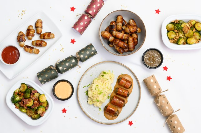 Pigs in Blankets from sainsbury's restaurant on Uber Eats