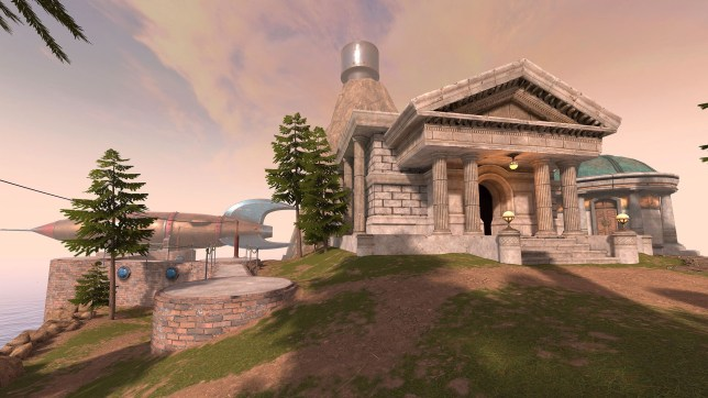 Myst Oculus Quest screenshot