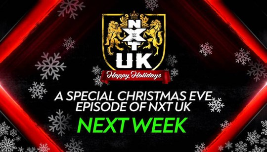 WWE NXT UK Christmas Eve announcement