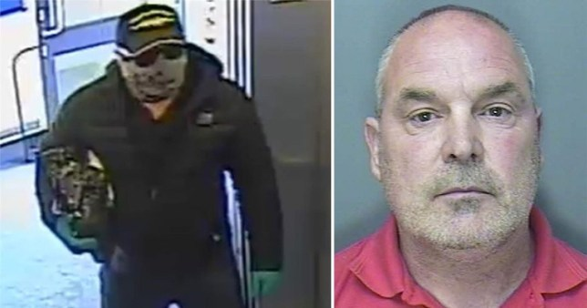 Gary Head, 55, who has been jailed for three years after posing as a delivery driver and ransacking a pensioner's home in Plymouth