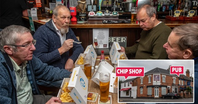 Pub teams up with local chip shop to beat 'substantial meal' rule