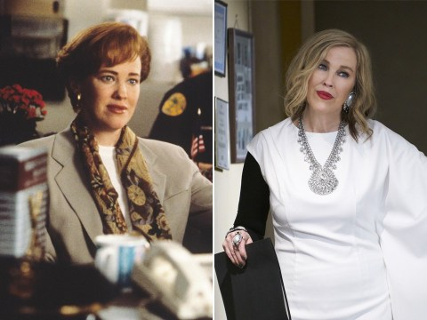 Yes, Schitt's Creek's Moira Rose and Kevin's mum in Home Alone are played by the same person