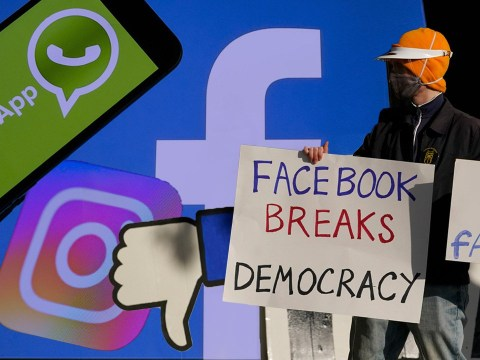 Facebook sued over 'abuse of power' and told to break up company