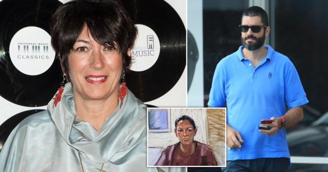 Ghislaine Maxwell and her suspected husband suspected husband Scott Borgerson