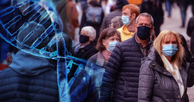 Scientists pinpoint five genes which make you more likely to die from Covid