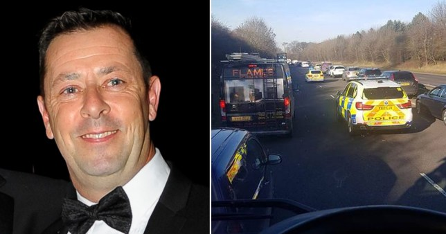 Teacher who ploughed into and killed motorcyclist 'was distracted by podcast'