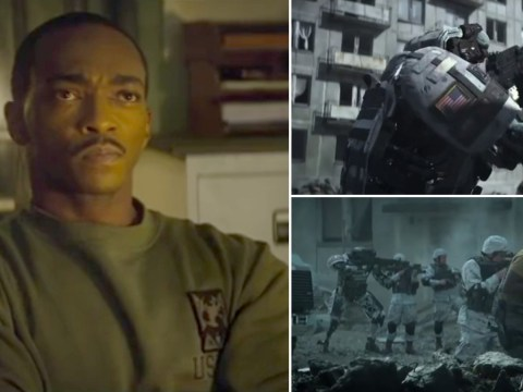 Captain America has nothing on Avengers star Anthony Mackie as he takes on new Netflix movie
