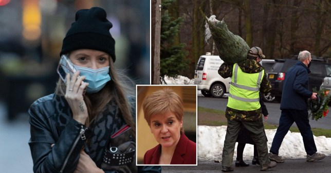 Coronavirus scenes in Scotland and Nicola Sturgeon