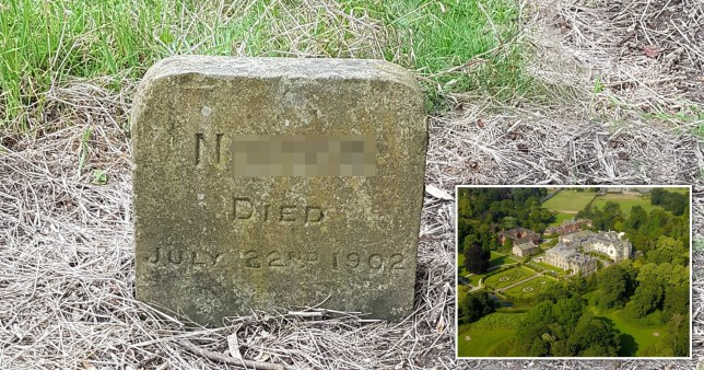 A dog grave containing a racial slur deemed inappropriate for the present age (Picture: Stock images)