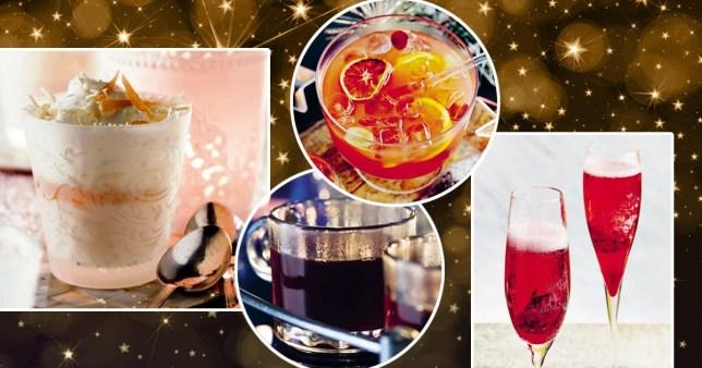 festive christmas cocktail recipes