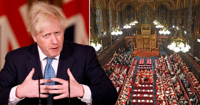 Mr Johnson brushed aside concerns from the House of Lords Appointments Commission