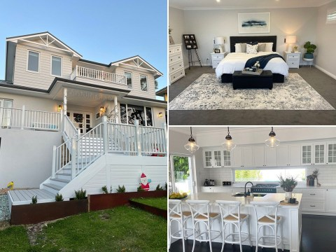 Couple transform home into Hamptons-style retreat during pandemic