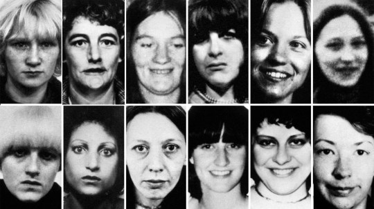 Peter Sutcliffe, the Yorkshire Ripper's 12 victims