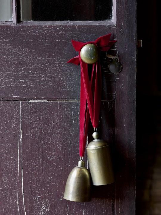 Vintage Brass Bell Set