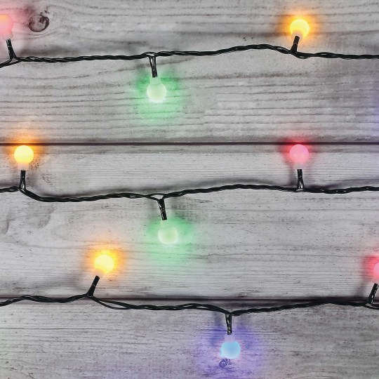 100 LED mains multi ball lights