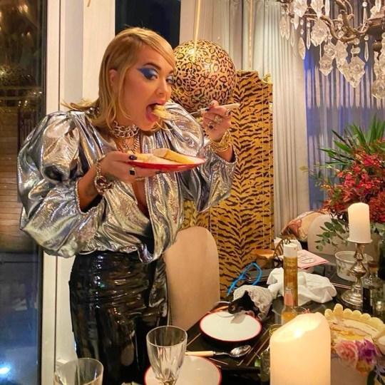 Rita Ora celebrates her 30th birthday
