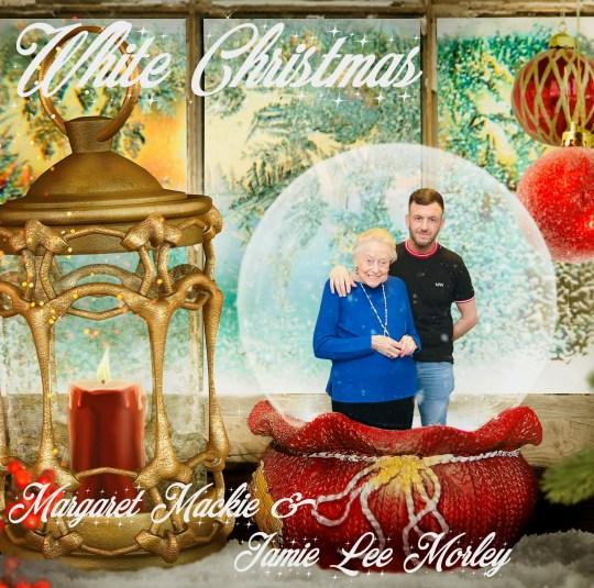 Margaret Mackie & Jamie Lee Morley White Christmas cover