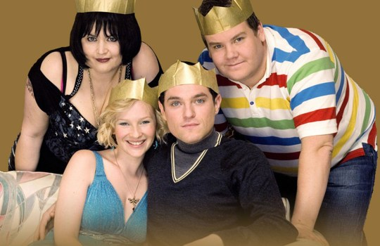 Gavin & Stacey Christmas (c) BBC Note to editors: Usage Rights: FOR BRITBOX RELATED EDITORIAL USE ONLY. IF YOU USE REPRODUCE THIS IMAGE, YOU MUST SPECIFICALLY MENTION THE PROGRAMME IN EDITORIAL COPY AND NOT REPRODUCE SIMPLY TO PROMOTE BRITBOX AS A PLATFORM. THIS IS DUE TO AGREED USAGE RIGHTS BY COPYRIGHT OWNERS. This image is under copyright and can only be reproduced for editorial purposes in your print or online publication. This image cannot be syndicated to any other third party. BritBox Press Picture Publicity enquiries to iwona.karbowska@itv.com