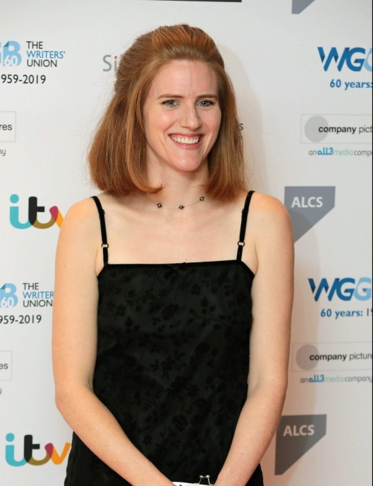 Sarah Kendall The Writers' Guild Awards, Royal College Of Physicians, London, UK