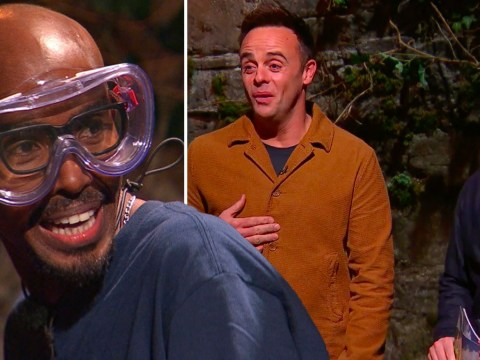 I'm A Celebrity 2020: Mo Farah screams after a leaf falls on him in hysterical Bushtucker Trial clip
