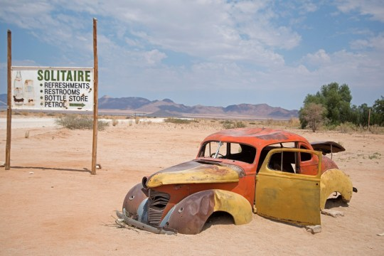Abandoned car, Solitaire, Namibia