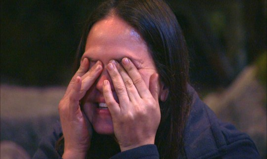 Giovanna Fletcher got emotional