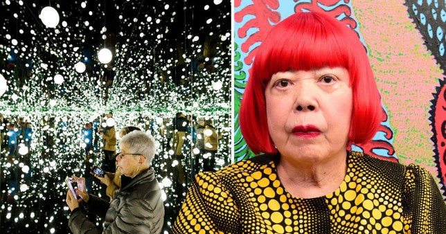 Yayoi Kusama's postponed exhibition is coming to the Tate Modern in 2021