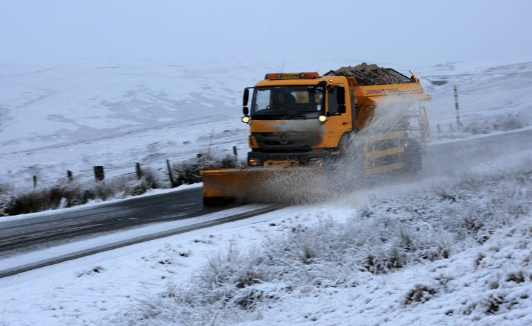 Snow in Upper Teesdale County Durham