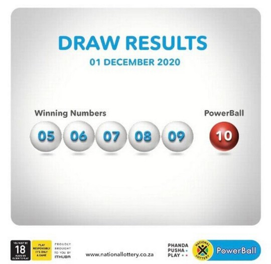 Lottery fraud claims as jackpot drawn with 5, 6, 7, 8, 9 and 10 drawn