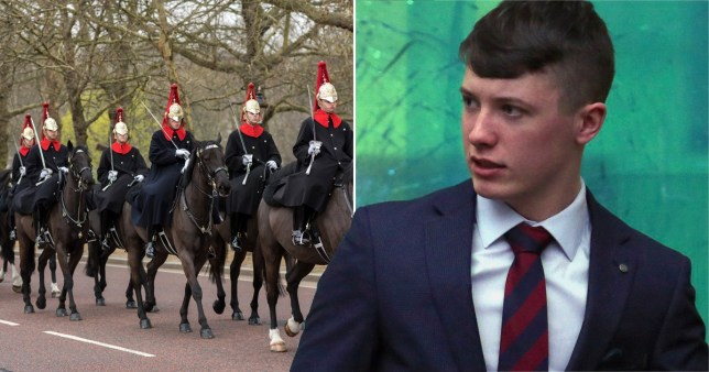 marc thomson of queen's household cavalry