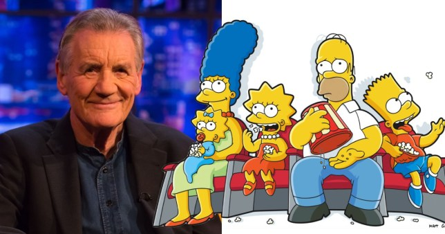SIr Michael Palin talks about getting his Simpsons character Rex