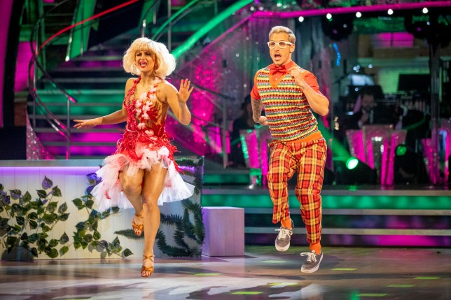 Maisie Smith and Gorka on Strictly