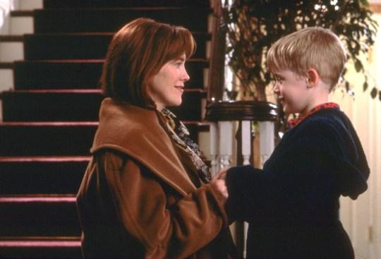 Home Alone Catherine O'Hara and Macaulay Culkin as Kevin McCallister and mum Kate