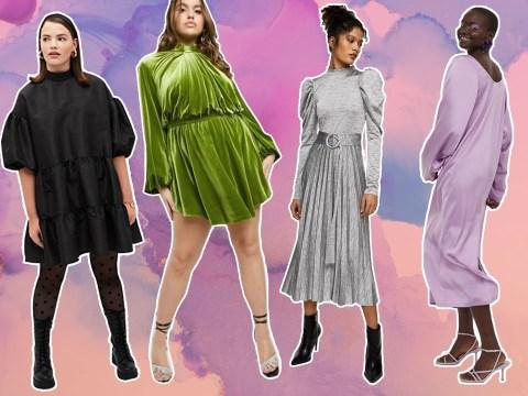 10 of the best 'throw on' dresses for easy festive dressing