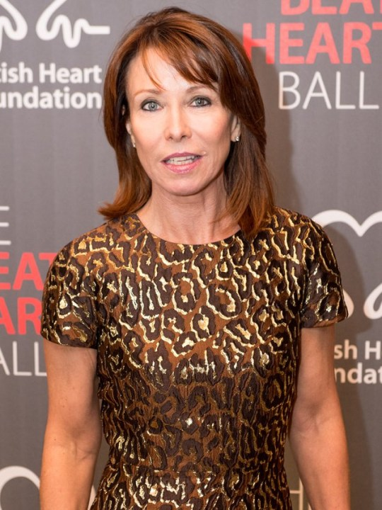 Kay Burley on red carpet
