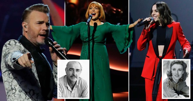 Royal Variety Performance pays tribute to celebrities who died this year