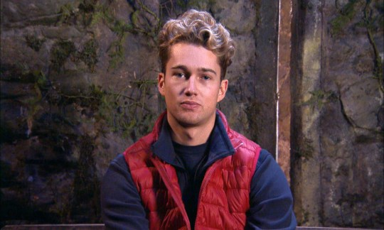 Editorial Use Only Mandatory Credit: Photo by ITV/REX (11068479bs) Dinner, Monkfish - AJ Pritchard 'I'm a Celebrity... Get Me Out of Here!' TV Show, Series 20, Show 12, Gwrych Castle, Wales, UK - 26 Nov 2020