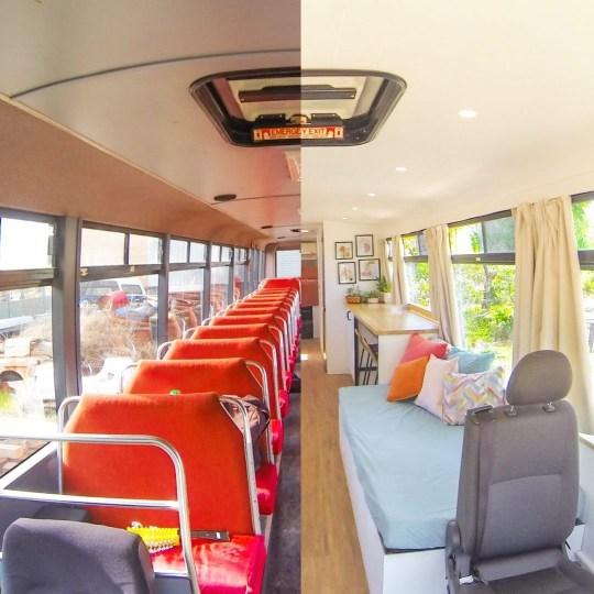 School bus home transformation