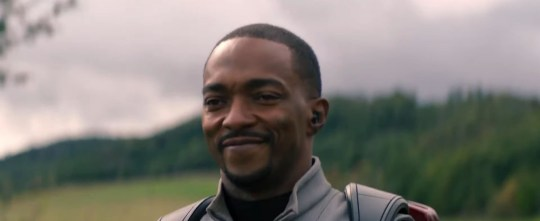 Anthony Mackie as Falcon in the Falcon and the Winter soldier