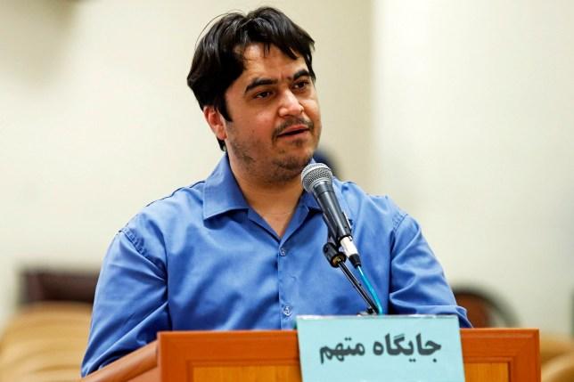 L'Iran a exécuté Ruhollah Zam qui dirigeait le site d'information AmadNews, qui encourageait les manifestations anti-gouvernementales en 2017.