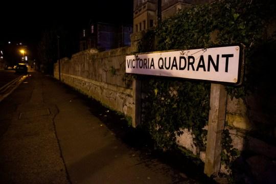 The baby was found on Victoria Quadrant