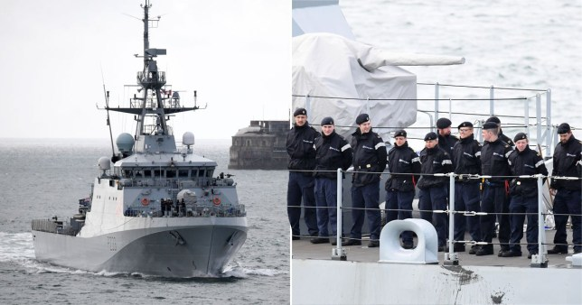 Royal navy boats