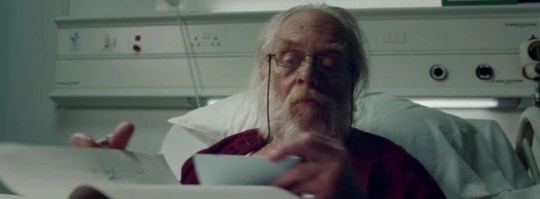 NHS ad showing Santa sick with coronavirus in hospital slammed for 'scaring kids' Pics: NHS Charities Together/YouTube