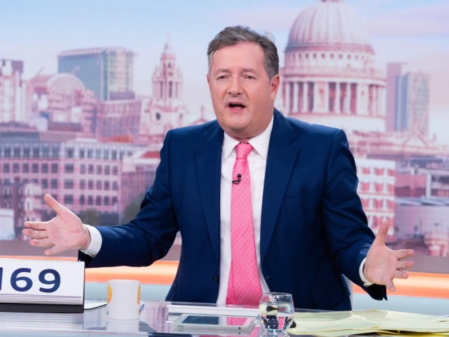 Good Morning Britain star Piers Morgan