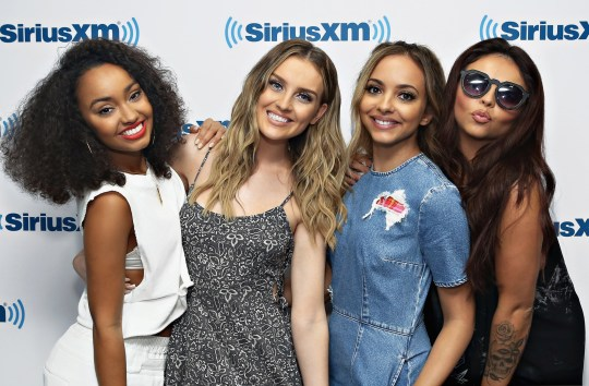 (L-R) Leigh-Anne Pinnock, Perrie Edwards, Jade Thirlwall and Jesy Nelson of Little Mix
