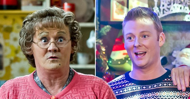 Mrs Browns Boys and Dino