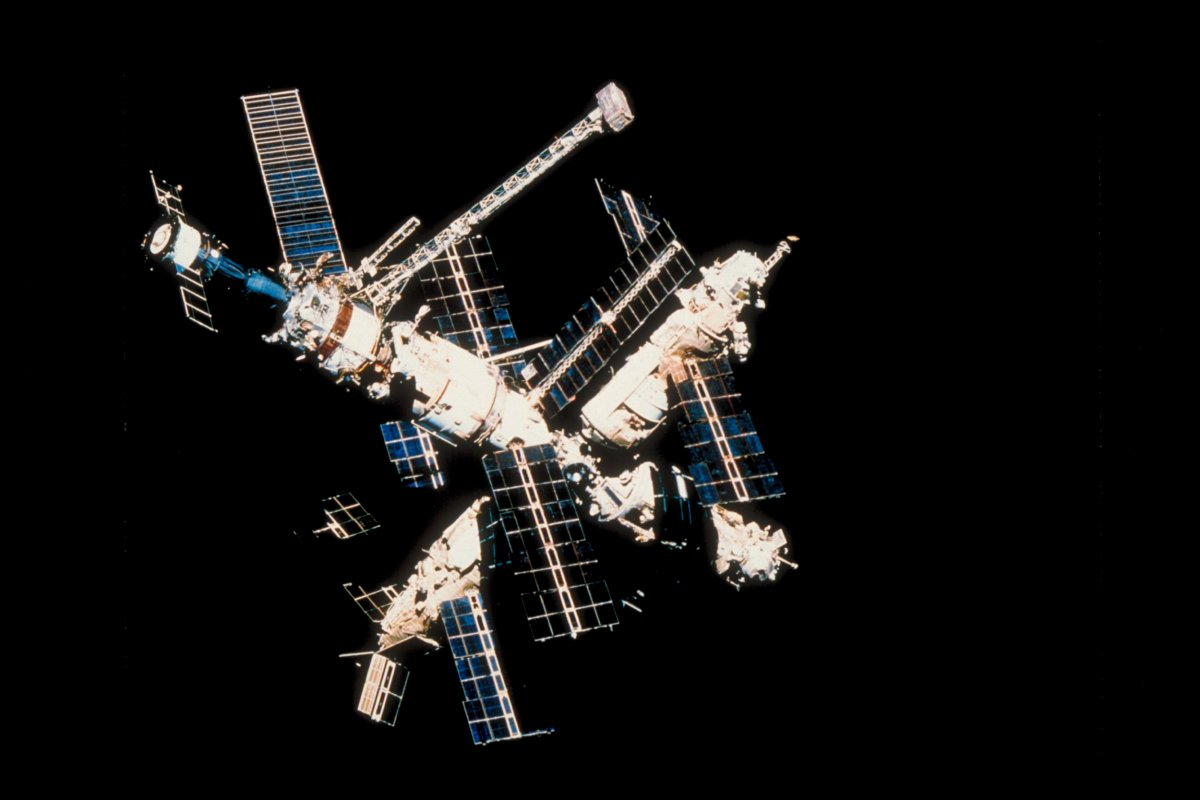 Russian space station Mir. (Photo by Time Life Pictures/NASA/The LIFE Picture Collection via Getty Images)