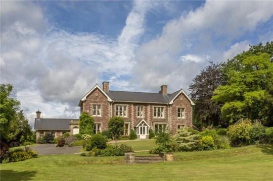 a welsh mansion